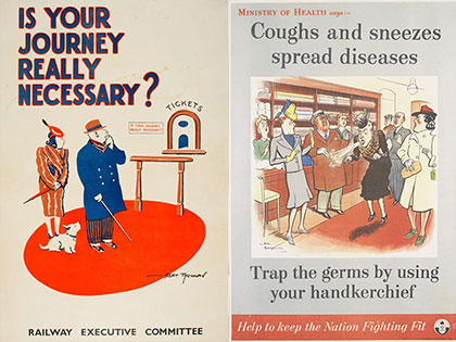 Potted History Tours Wartime Posters