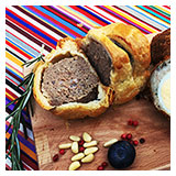 Sausage rolls, scotch eggs, pork pie.  Yum yum!